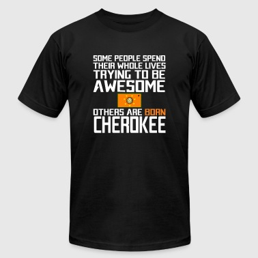 The Cherokee Nation - Be different - Men's Fine Jersey T-Shirt