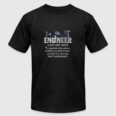 Engineer - Who solves a problem you don't know - Men's Fine Jersey T-Shirt
