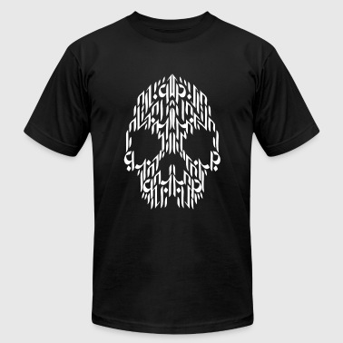 Calligraphy - Calligraphy Skull - Men's Fine Jersey T-Shirt