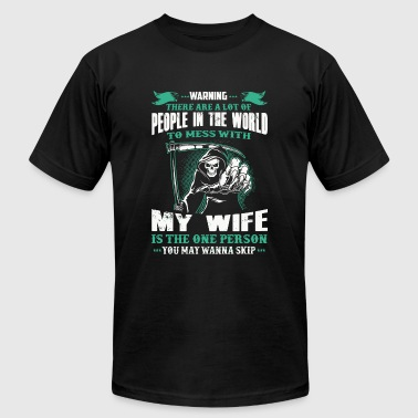 Wife - People In The World To Mess With Redhead - Men's Fine Jersey T-Shirt