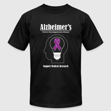 Alzheimer's Awareness - Alzheimer's Awareness - Men's Fine Jersey T-Shirt