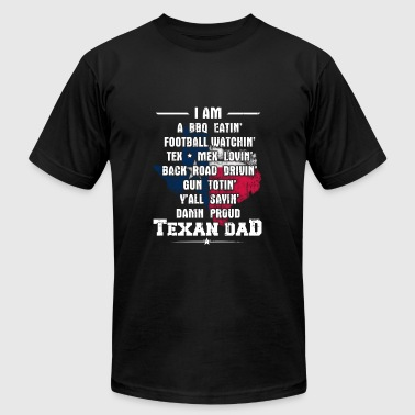Texan dad - Awesome texan dad t-shirt for dads - Men's Fine Jersey T-Shirt