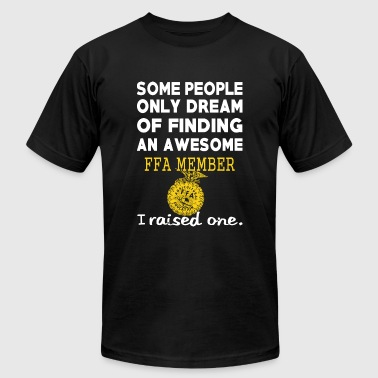 Finding an awesome FFA member - I raised one - Men's T-Shirt by American Apparel