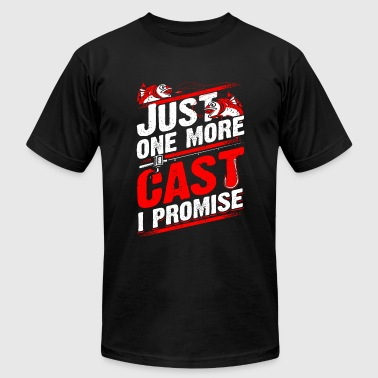 Fishing - Just one more cast I promise - fishing - Men's Fine Jersey T-Shirt