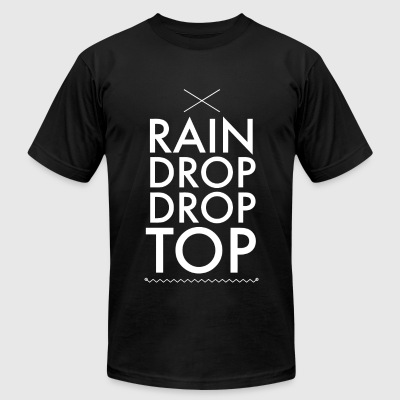 Rain - Rain Drop Drop Top - Men's T-Shirt by American Apparel