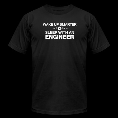 ENGINEER - WAKE UP SMARTER SLEEP WITH AN ENGINEE - Men's Fine Jersey T-Shirt