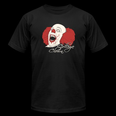 Clown - College Clowning - Men's Fine Jersey T-Shirt