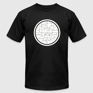 Electrical - Ohm's Law Electrical Engineering - Men's Fine Jersey T-Shirt