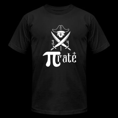 Math - Pi for Pirate - Men's Fine Jersey T-Shirt
