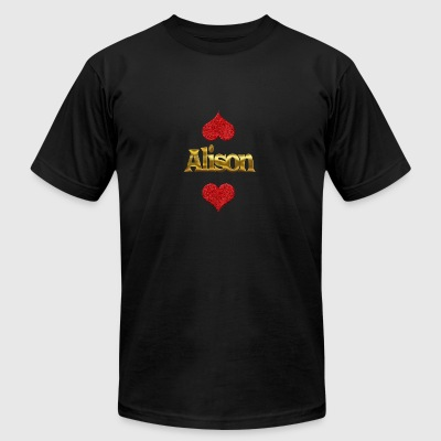 Alison - Men's T-Shirt by American Apparel