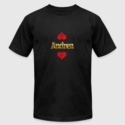 Andrea - Men's T-Shirt by American Apparel