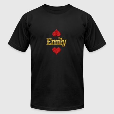 Emily - Men's T-Shirt by American Apparel