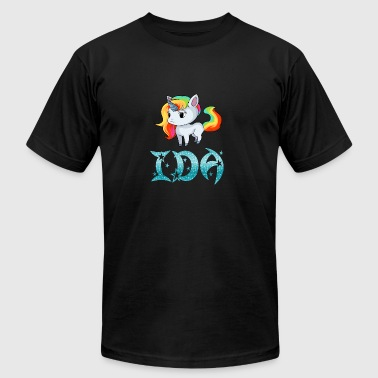 Ida Unicorn - Men's Fine Jersey T-Shirt