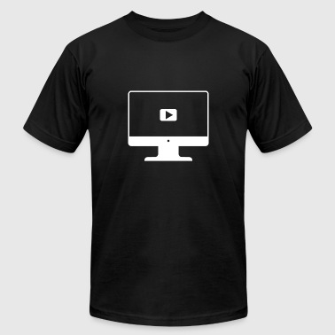 iMac Video - Men's Fine Jersey T-Shirt