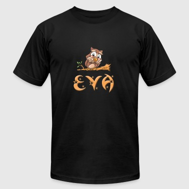 Eva Owl - Men's T-Shirt by American Apparel