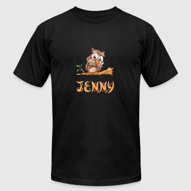 Jenny Owl - Men's T-Shirt by American Apparel