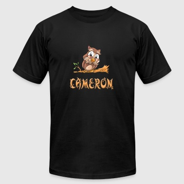 Cameron Owl - Men's T-Shirt by American Apparel