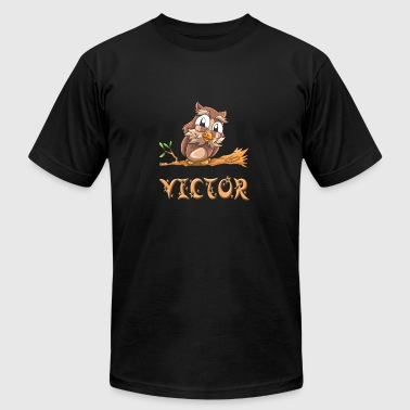 Victor Owl - Men's T-Shirt by American Apparel