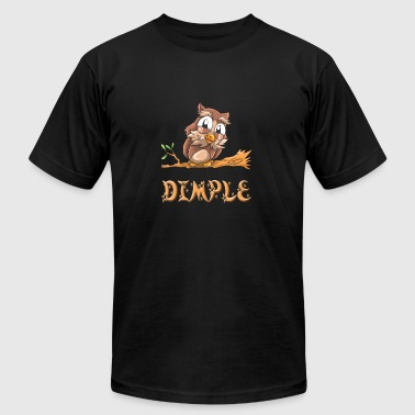 Dimple Owl - Men's T-Shirt by American Apparel