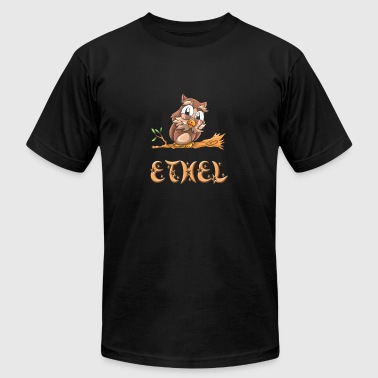Ethel Owl - Men's T-Shirt by American Apparel