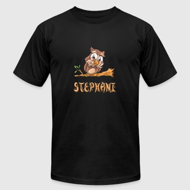 Stephani Owl - Men's Fine Jersey T-Shirt