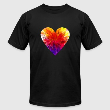 love - Men's T-Shirt by American Apparel
