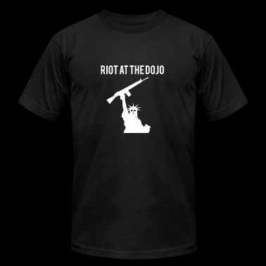 Riot at the Dojo - Men's Fine Jersey T-Shirt