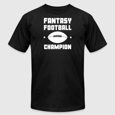 Fantasy Football Champion - Men's T-Shirt by American Apparel