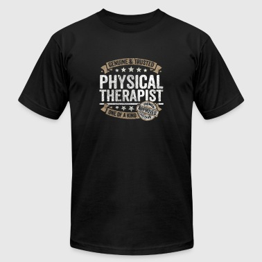 Physical Therapist Gift Trusted Job Shirt - Men's Fine Jersey T-Shirt