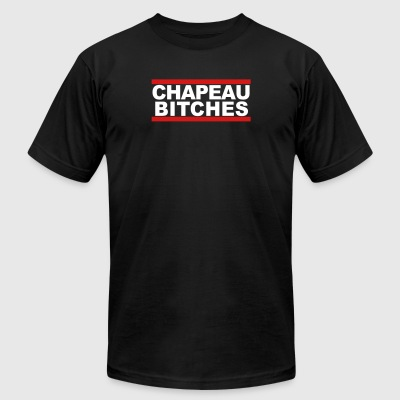 Chapeau bitches - Men's T-Shirt by American Apparel