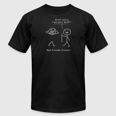 Don't worry BBF - Men's T-Shirt by American Apparel