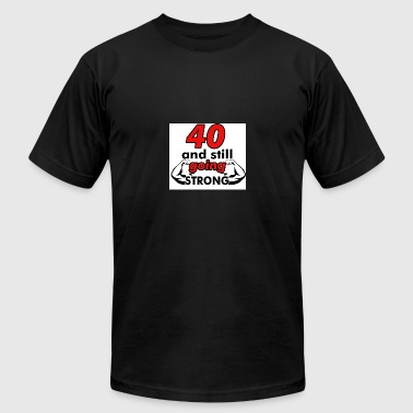 40th birthday design - Men's Fine Jersey T-Shirt