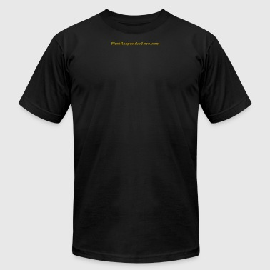 serif (gold) - Men's T-Shirt by American Apparel
