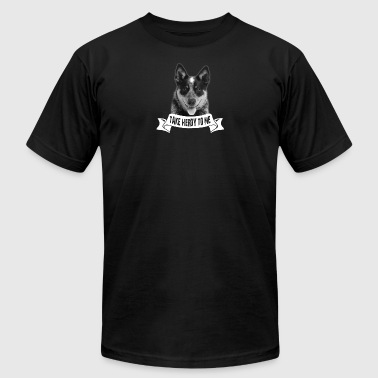 Australian Cattle Dog Tshirt - Men's Fine Jersey T-Shirt
