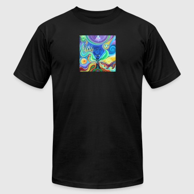 Coloring Chakra - Men's T-Shirt by American Apparel