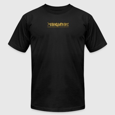 More Than Conquerors - Men's Fine Jersey T-Shirt