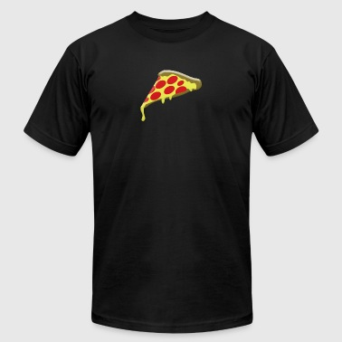 pepperoni pizza slice - Men's Fine Jersey T-Shirt
