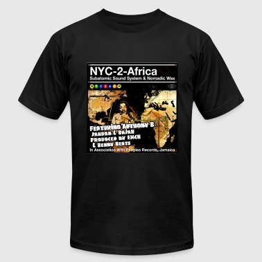 NYC-2-Africa album cover - Men's Fine Jersey T-Shirt