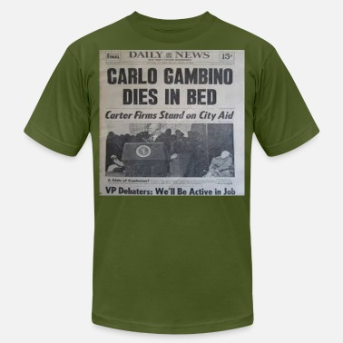 Headlines CARLO GAMBINO PASSING HEADLINE - Men's  Jersey T-Shirt