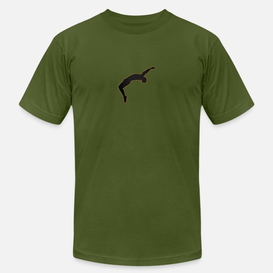 Backflip T-Shirts - backflip - Men's Jersey T-Shirt olive