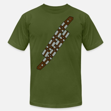 Strapped Up soldier gun strap - Men's Jersey T-Shirt