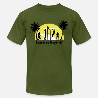 Beach beach volleyball - Unisex Jersey T-Shirt