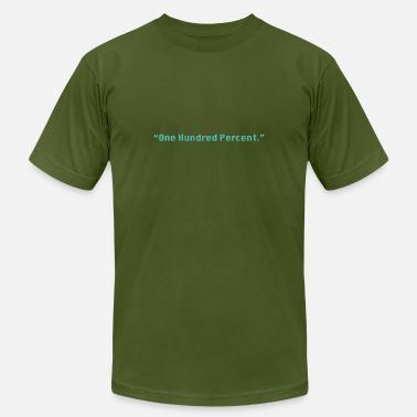 Current Events One Hundred Percent (green) - Men's Jersey T-Shirt
