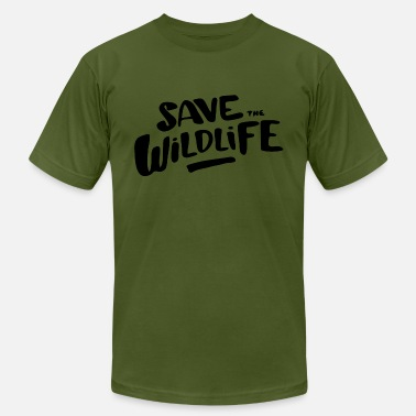 Reptile Save the Wildlife - Men's  Jersey T-Shirt