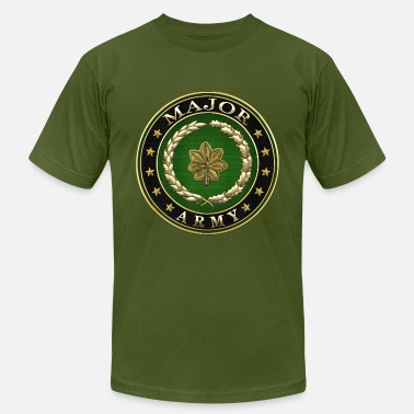 Insignia Major (MAJ) Rank - Unisex Jersey T-Shirt
