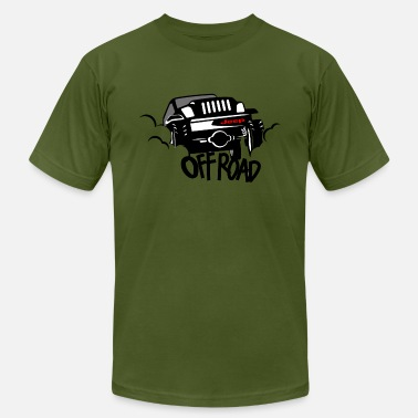 Offroad Vehicles JEEP OFFROAD - Men's  Jersey T-Shirt
