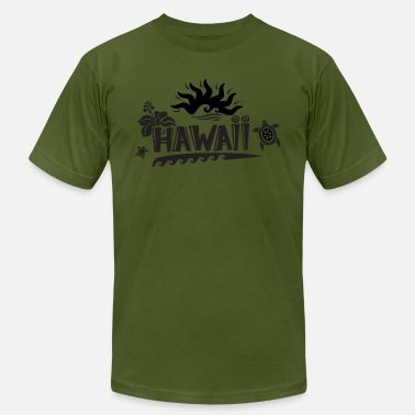 Paradise Hawaii Hawaii Surfers Paradise - Men's  Jersey T-Shirt