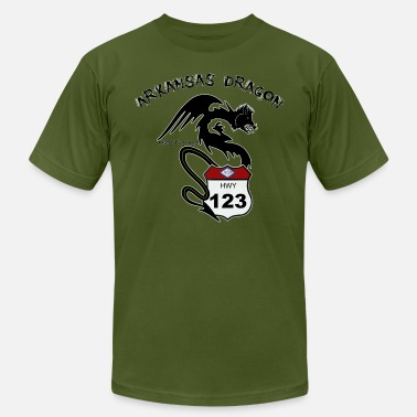 The Arkansas Dragon T-Shirt - Men's  Jersey T-Shirt