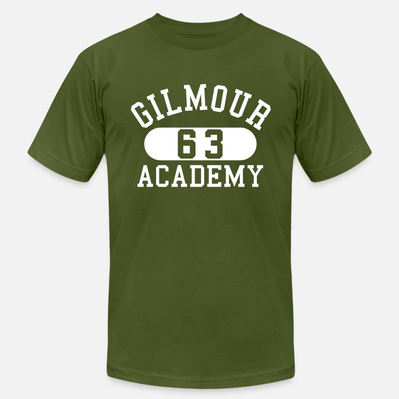 Vintage T-Shirts - Gilmour Academy - Men's Jersey T-Shirt olive