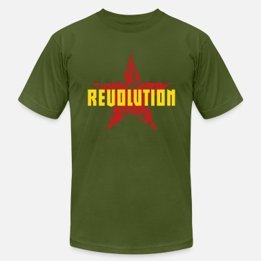 Máximo Revolution (Red Star) - Men's Jersey T-Shirt
